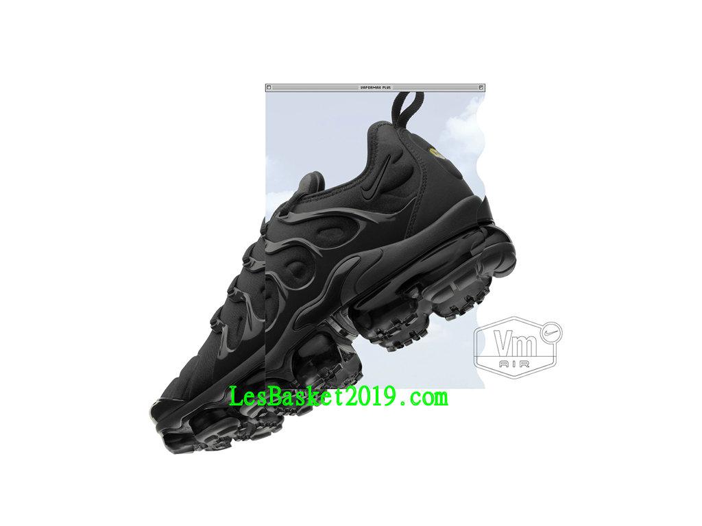 2019 Nike Air Vapormax Plus Chaussures 2019 Nike Basket 2018 Pas Cher Pour Homme Noir 924453 004 1903130075 Chaussure de Basket | Nike Air Max Plus
