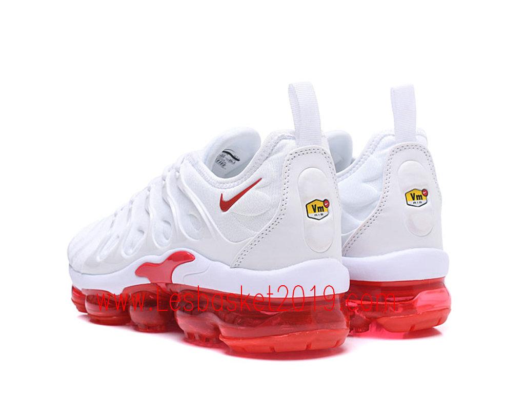 2019 Nike Air Vapormax Plus Chaussures DE Basket 2019 Pas Cher Pour Homme Blanc Rouge 924453 ID06 1903130767 Chaussure de Basket   Nike Air Max Plus